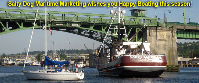 1. Salty Dog Maritime Marketing wishes you Happy Boating this Season!